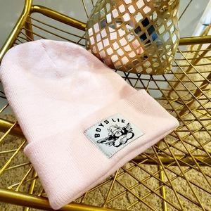 Boys Lie   Baby Pink Beanie